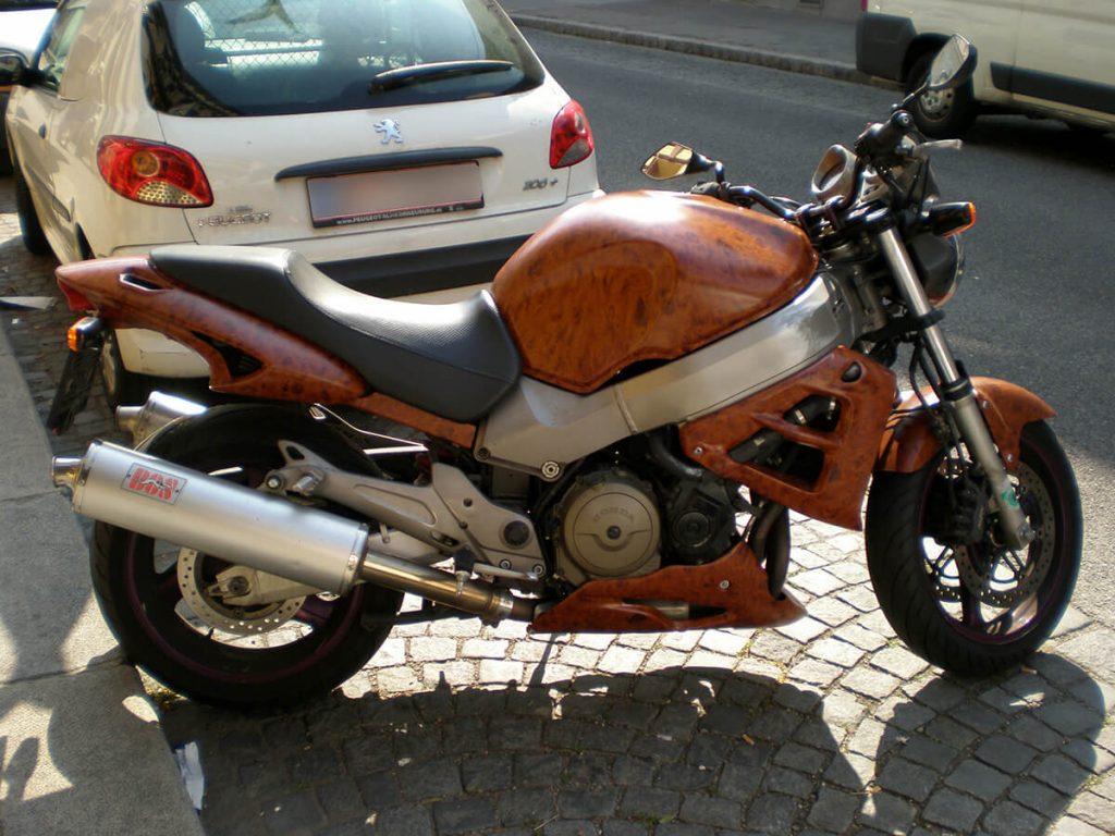 motorradfolierung | holz | wrapping | wien